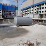 Bể tự hoại 7000 lít dùng cho chung cư