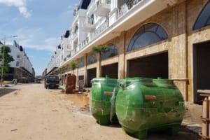 Cung Cấp Bể Phốt Cho Dự án khu phố thương mại Shophouse Thổ Tang Vĩnh Phúc