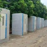 Nhà tắm, nhà vệ sinh giá rẻ dùng cho khu cách ly điều trị covid – 19